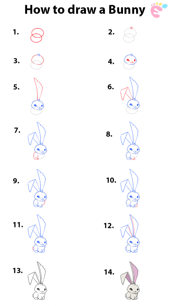 How to draw a Bunny 1