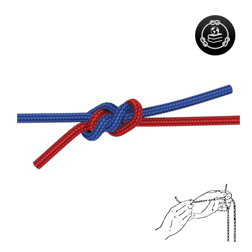 How to tie a Flemish Bend knot
