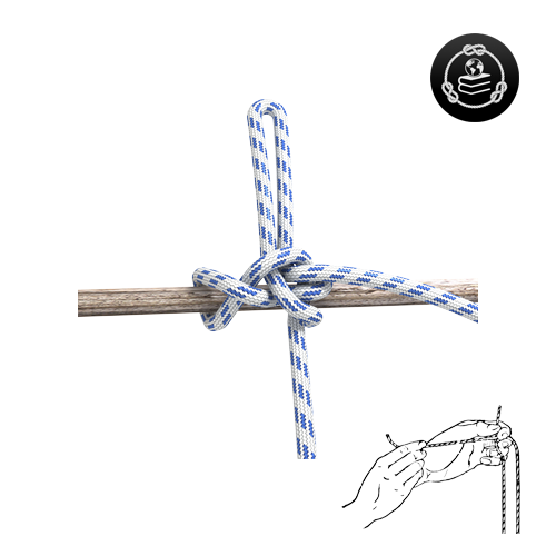 How to tie a Highwayman's Hitch knot